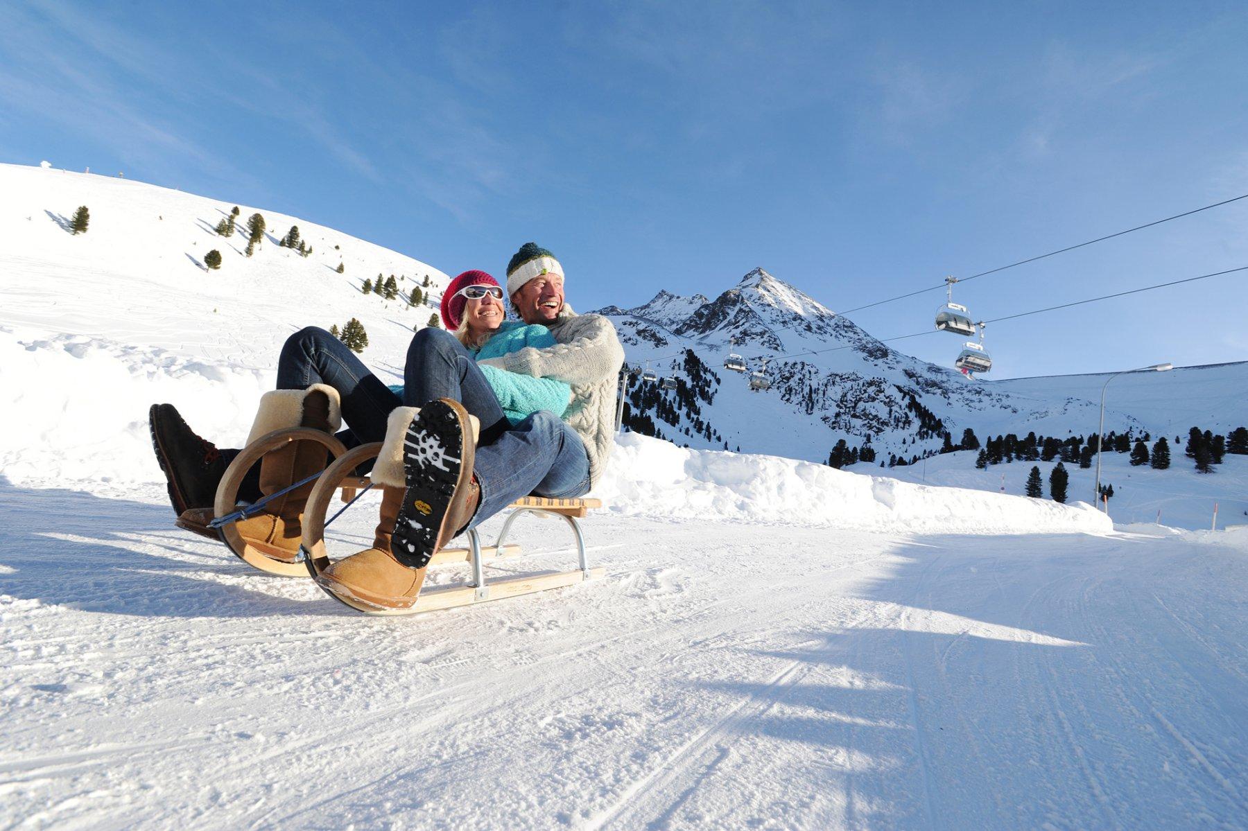 Rodeln Urlaub In K 252 Htai Tirol