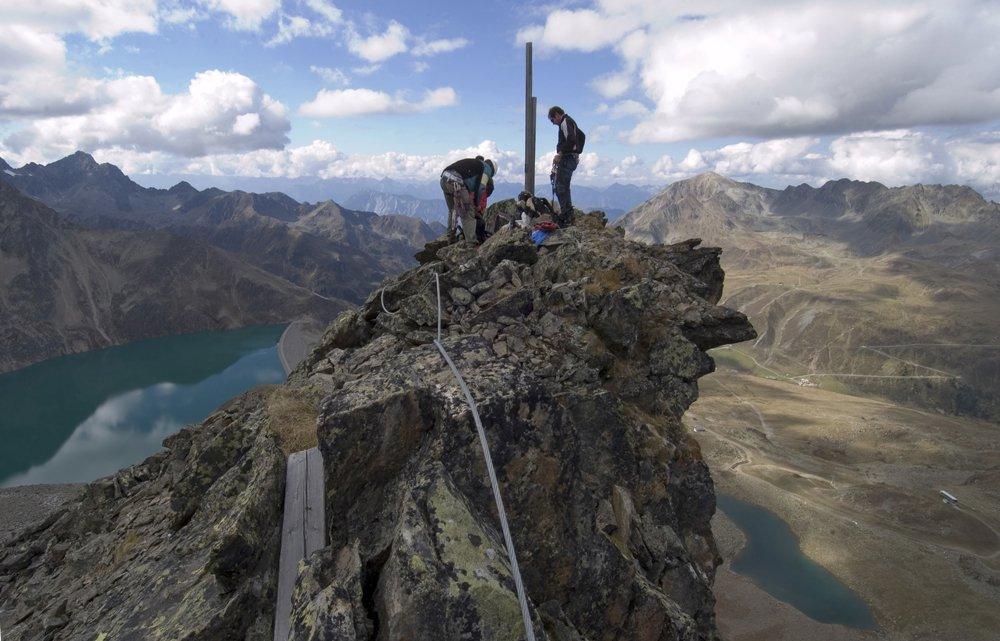 Klettersteig Tirol : Klettersteig urlaub in kühtai tirol