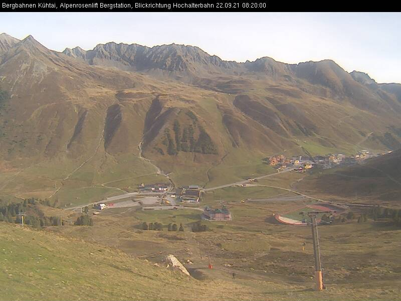 Webcam Skigebiet Kühtai Alpenrosenlift - Tirol