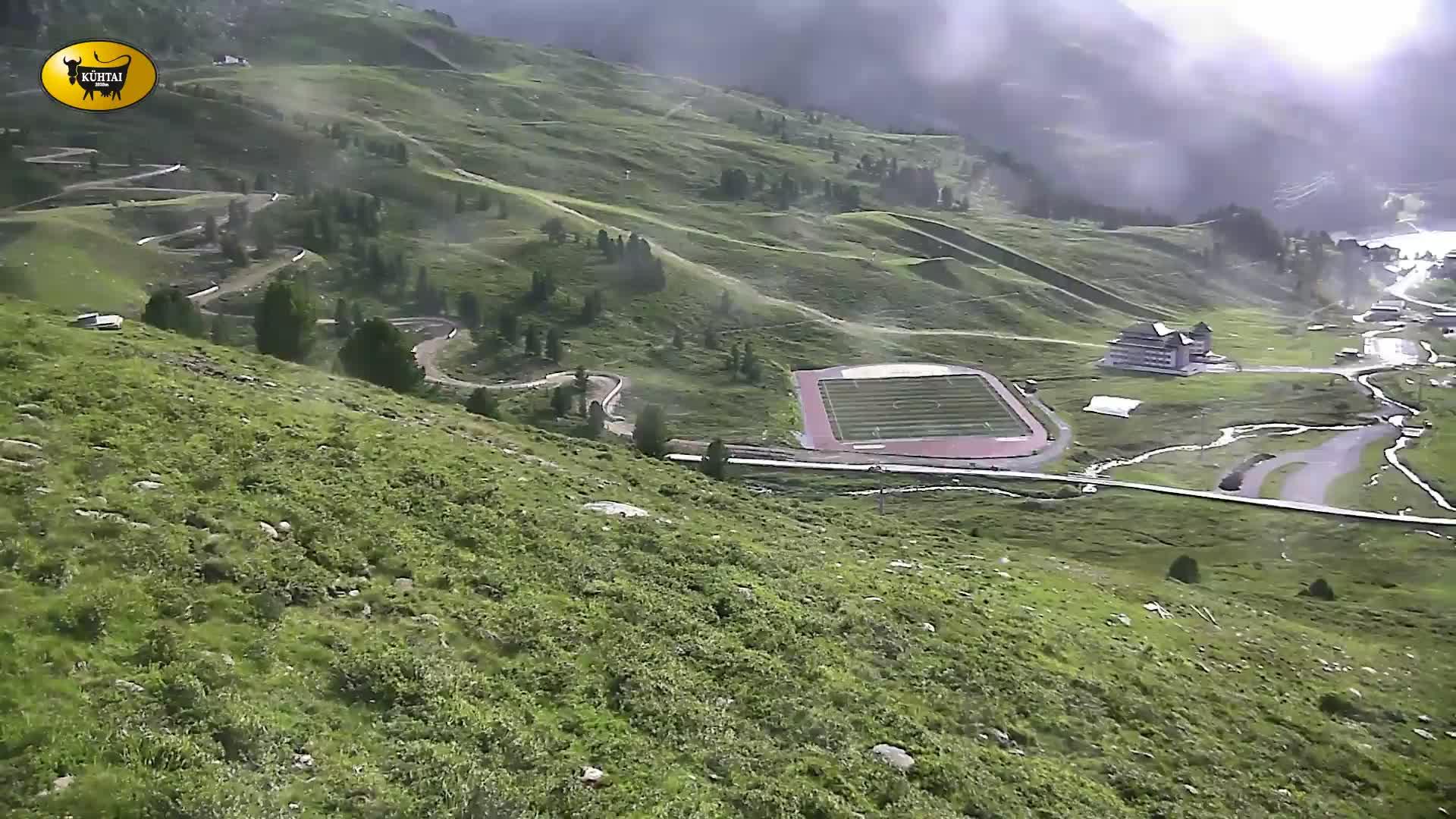 Panoramawebcam Kühtai - TVBKühtai - Blick auf den Weltcuphang